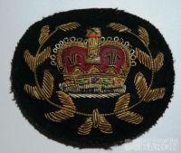 Anglie - voj.nášivka s král.korunou - předválečná