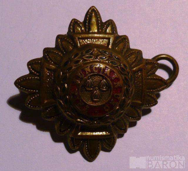 Anglie voj.odznak TRIA JUNCTA IN UNO