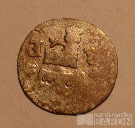 Čechy Kutná Hora malý peníz 1526-64 Ferdinand I.