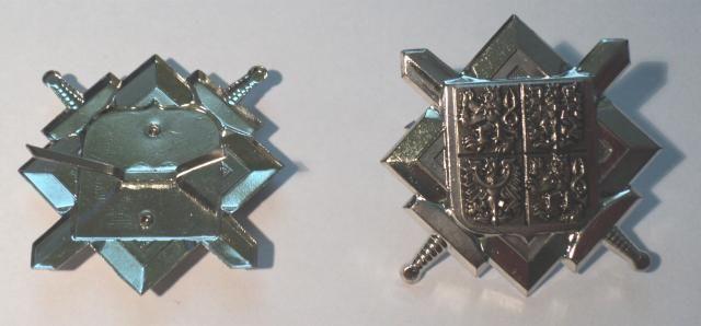 ČR - čepicový odznak - stříbrný