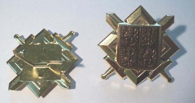 ČR - čepicový odznak - zlatý