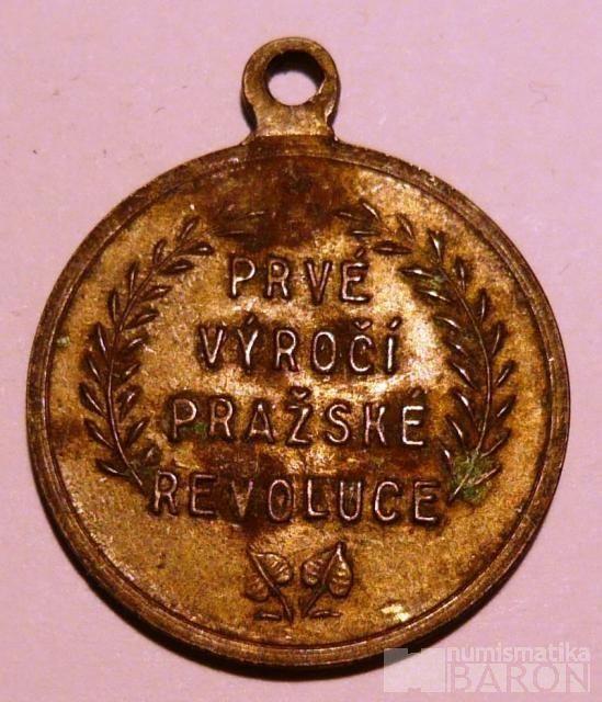 ČSR - 1946 1.výročí pražské revoluce
