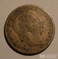 Rakousko 1/4 Fl 1869 A