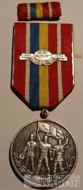 Rumunsko 25 august 1974