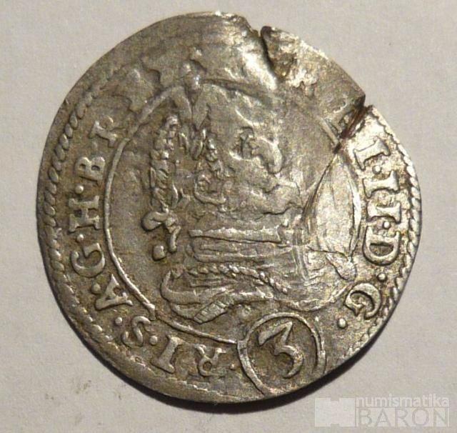 Štýrsko Št. Hradec 3 Krejcar 1627 Ferdinand II.