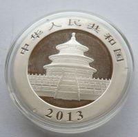 Čína 10 Yuan 1 Unce 2013 - panda