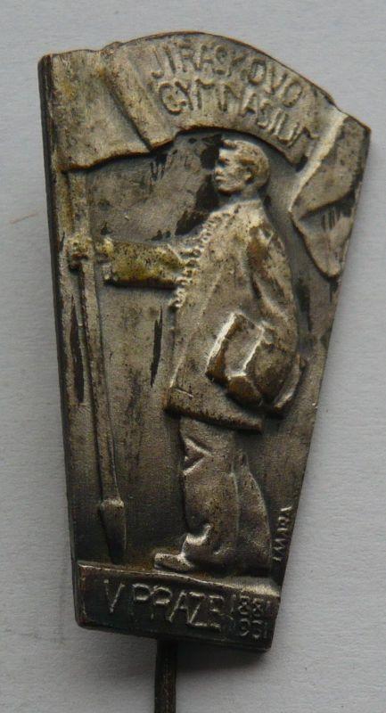 ČSR - Jiráskovo gymnázium v Praze 1931 těžký kov