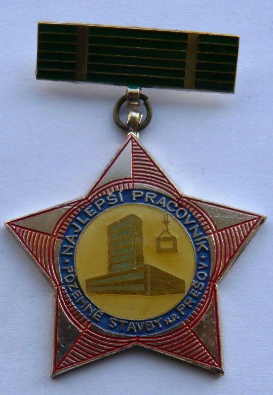 ČSSR NP - pozemní stavby Prešov