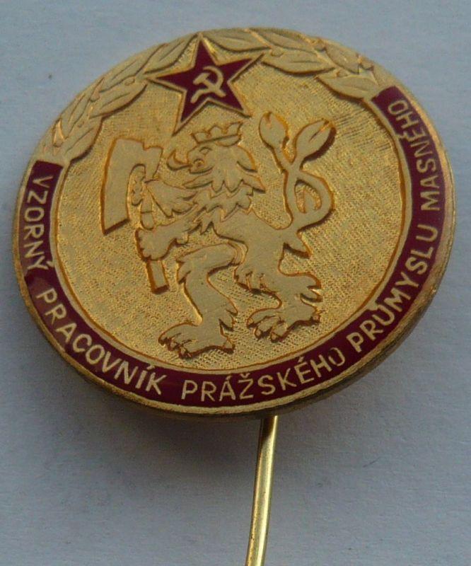 ČSSR - VP - pražského masného průmyslu