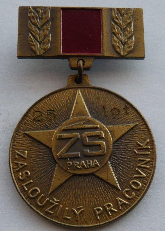 ČSSR zasl.pracovník ZS Praha