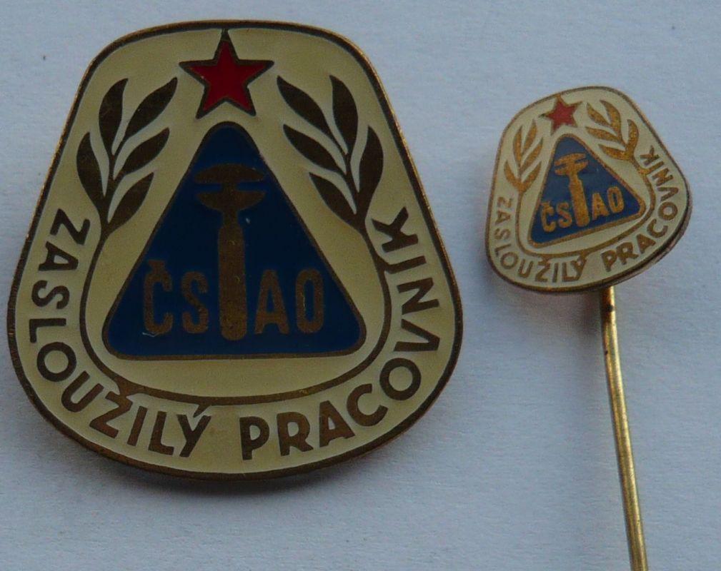 ČSSR - ZP - ČSAO + miniatura