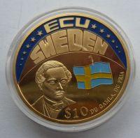 Liberie vstup Švédska do EU 10 Dol 2001