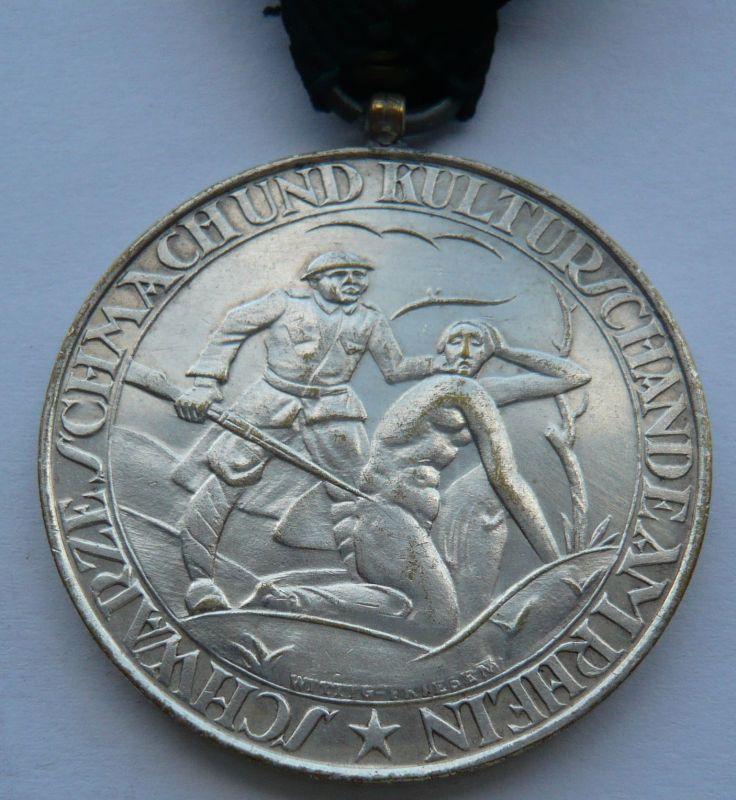 Německo posměšná medaile na osvobození