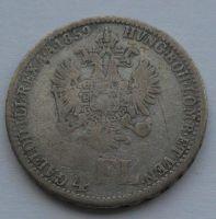 Rakousko 1/4 Fl 1859 V