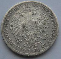 Rakousko 1 Fl 1858 V