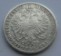 Rakousko 1 Fl 1861 A