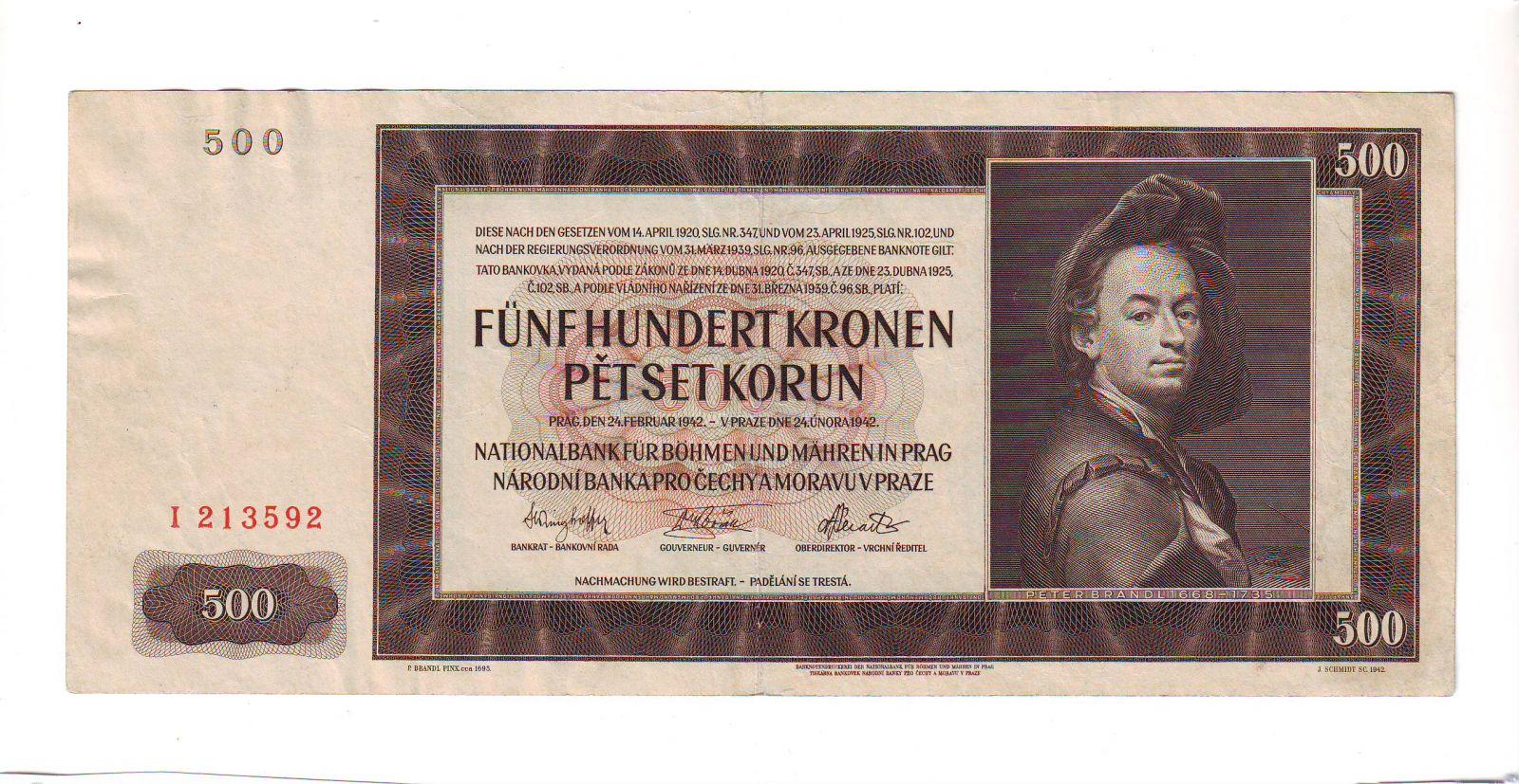 500K/1942/, stav 1-, série I - I.vydání
