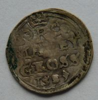 Čechy K. Hora malý Groš 1587 Rudolf II.