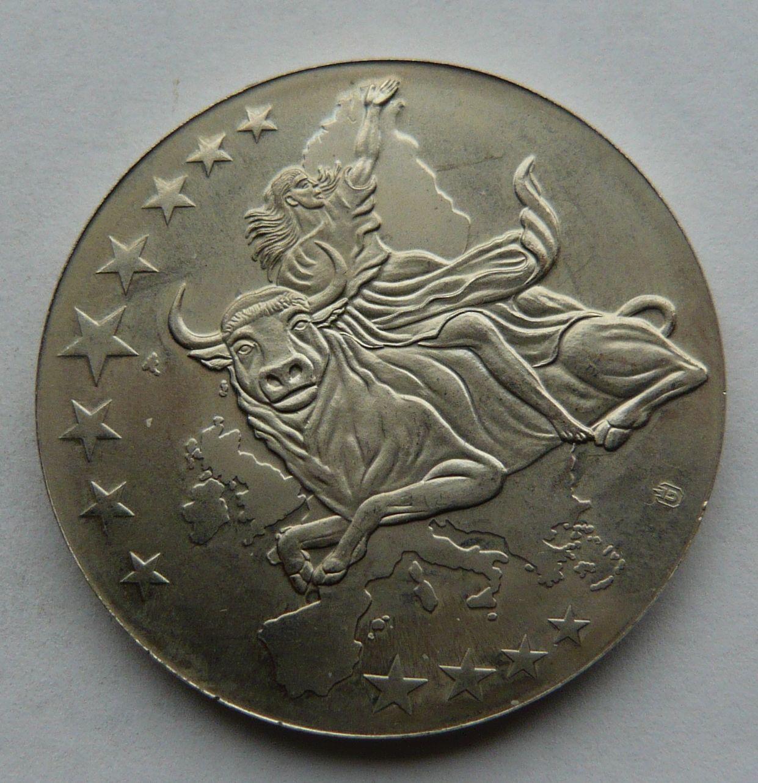 Evropa bankovková med. 100 Euro