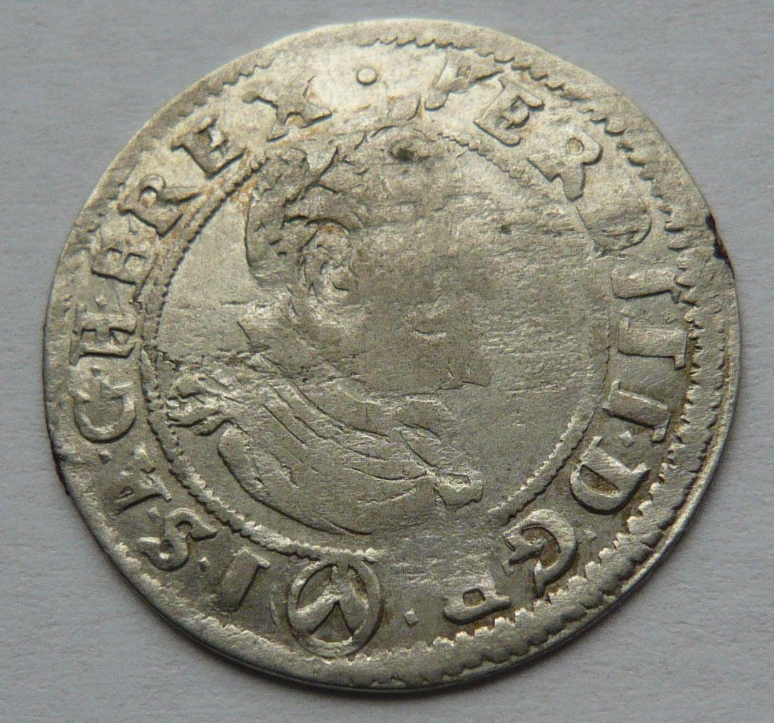 Rakousko VÍDEŇ 3 Krejcar 1624 Ferdinand II.