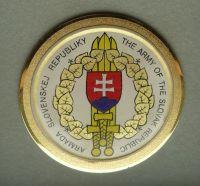 Slovensko - Pamětní plaketa armády SR + etue