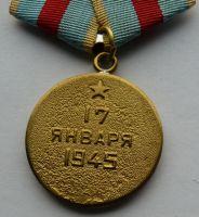 SSSR - Za osvobození Varšavy