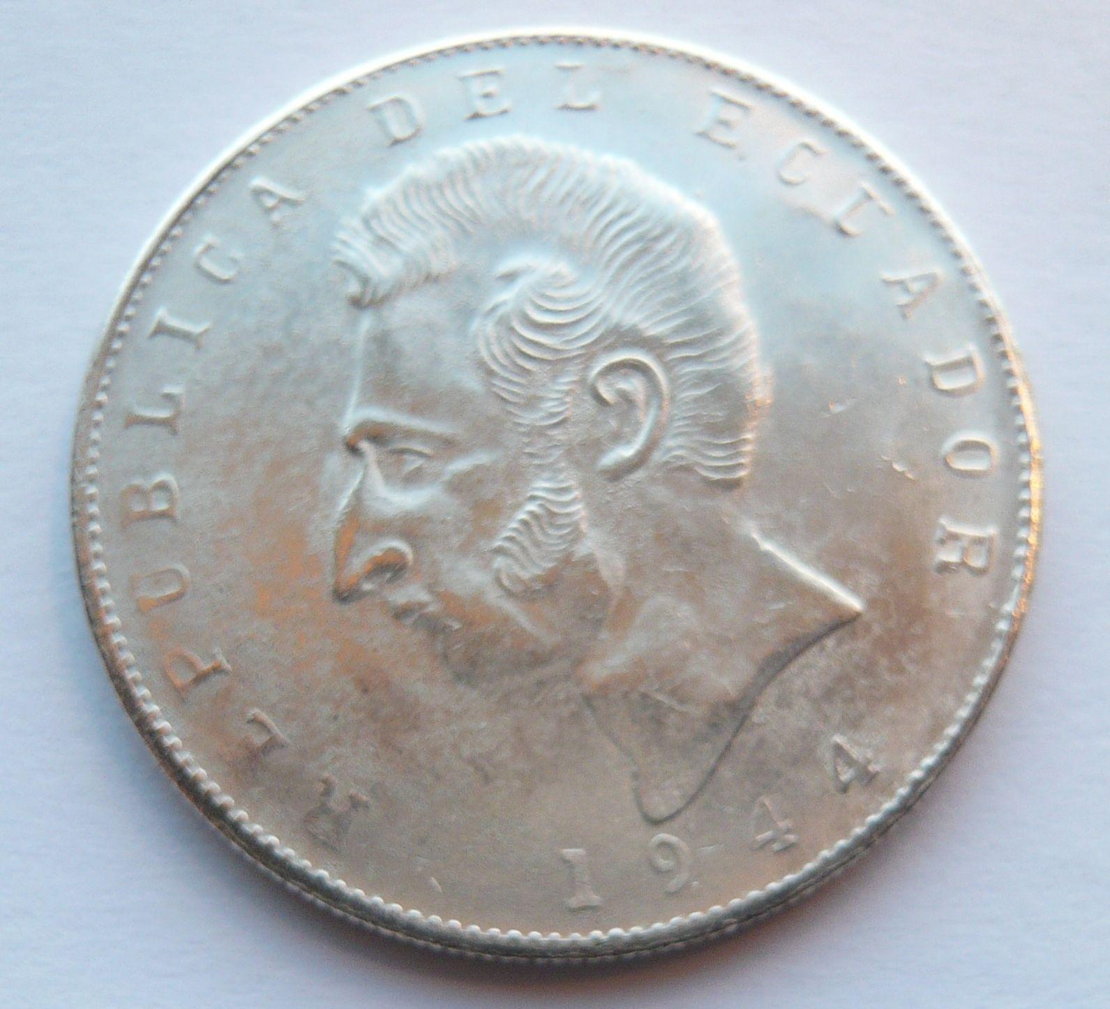 Ekvádor 5 Sucres - KOPIE 1944