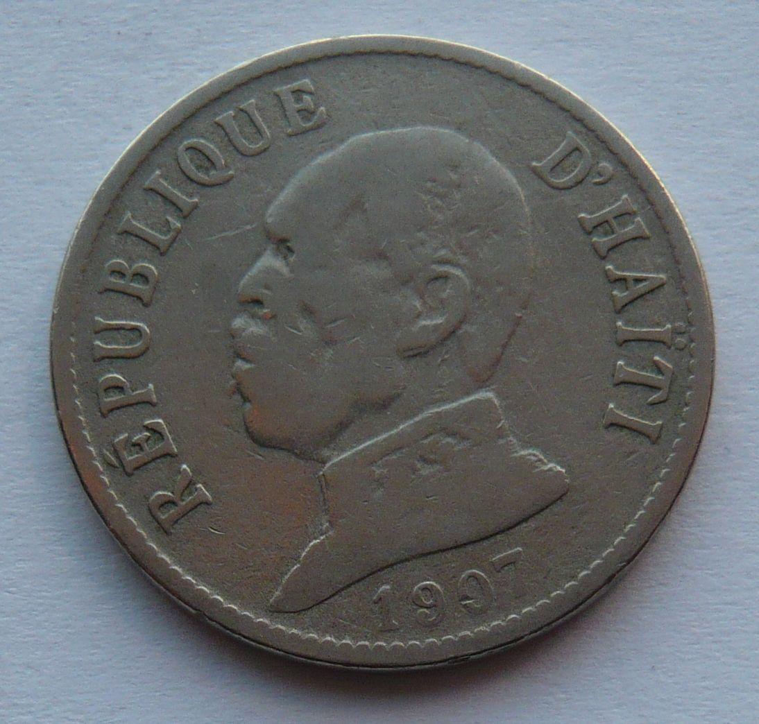 Haiti 20 C 1907