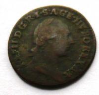 Rakousko 1/4 Krejcar 1781 B Josef II.