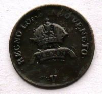 Rakousko 1 Cenitisimo 1822 V František II.