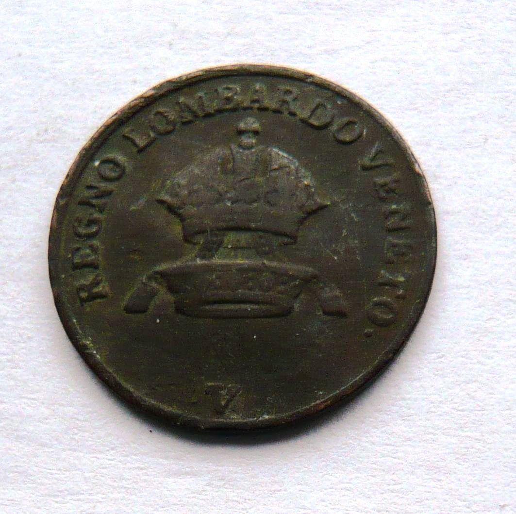 Rakousko 1 Centisimo 1822 V František II.