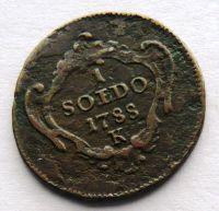 Rakousko 1 Soldo 1788 František Lotrinský