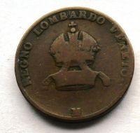 Rakousko 5 Centisimo 1822 V František II.