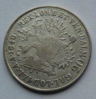 Rakousko 20 Krejcar 1840 E Ferdinand V.