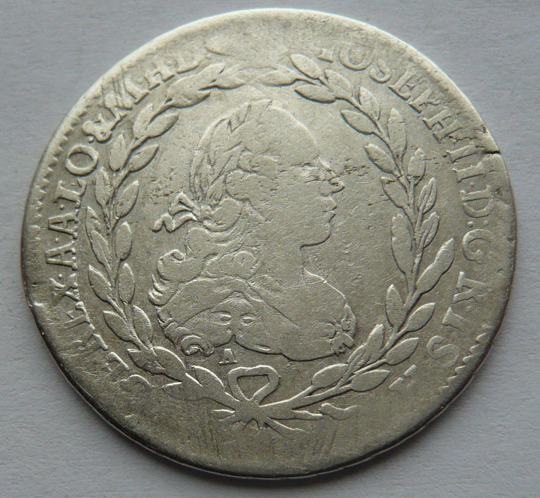 Rakousko ICSA 20 Krejcar 1768 Josef II.