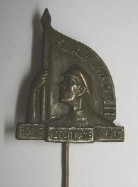 ČSR - Zborov 1937 - hlava vojáka