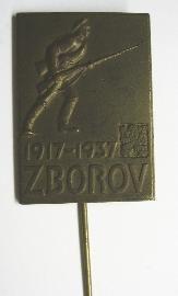 ČSR - Zborov 1937 - voják s puškou
