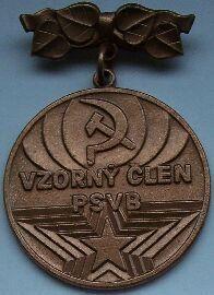 ČSSR - vzorný člen PS VB