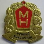 ČSSR - Vzorný pracovník MH