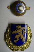 Estonsko - policejní odznak