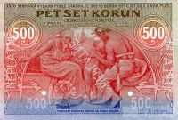 KOPIE 500Kč/1919/, stav UNC