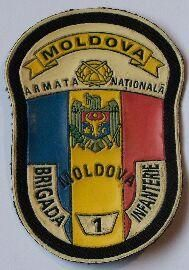 Moldávie - nášivka - II -