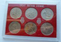 Anglie sada šesti jubilejních Crown