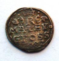 Čechy K.Hora malý Groš 1587 Rudolf II.