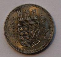 Německo - OHLIGS 10 Pf nouzovka 1920