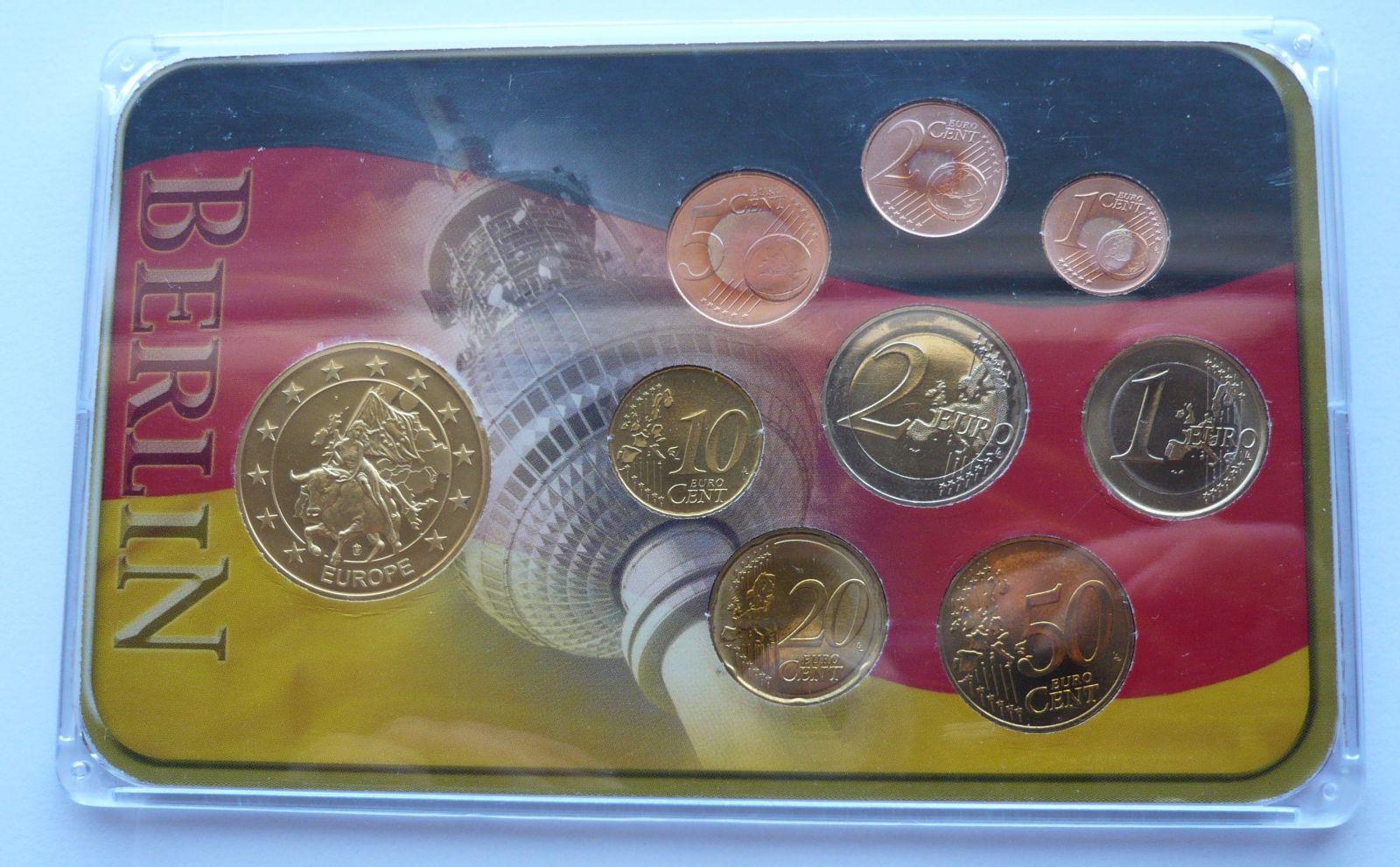 Německo sada Euro Berlín