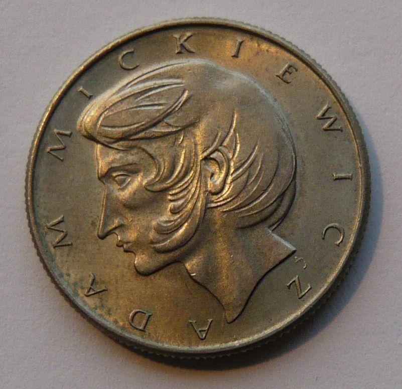 Polsko 10 Zl. Mickiewitz 1975