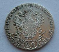 Rakousko 20 Krejcar 1824 E František I.