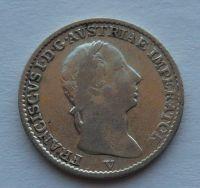 Rakousko 1/4 Lira 1822 V František II. STAV