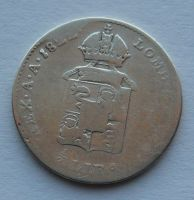 Rakousko 12 Lira 1822 V František II.